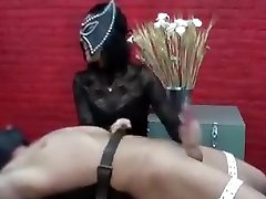 Hand job and post orgasm torture