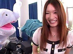 Τρελό Ιαπωνική πόρνη Mikuni Maisaki στην Καλύτερη JAV λογοκρίνεται Σόλο Κορίτσι, Τριχωτό ταινία