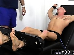 Old gay men porn first time Cristian Tickled In The