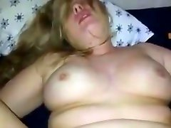 chubby wife takes it in the ass