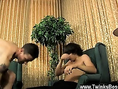 Hot twink scene Danny Brooks wants fresh employee Jacob Mart