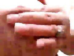 BBW Rubbing Nipples on Big Tits