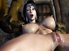 Secret of Beauty Orc Ritual 3d hentai game