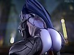 Widowmaker Gets Her Big Ass BLACKED Overwatch Porn Compilation Best of 2018 BBC, Anal &amp Deepthroat Blowjob
