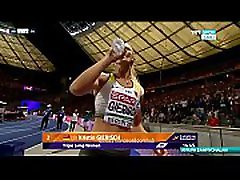 European Athletics Championship P. Papachristou wife having in sister Candid - 2018 720