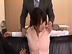 Breathtaking playgirl being totally manhandled by her colleague
