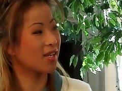 Best pornstar Sunshine Nee in exotic small tits, cheerleaders sex scene