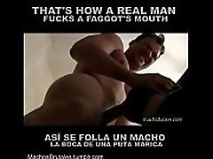 Alpha Male destroying a throat - learn to be an alpha top at https:sellfy.compni9V