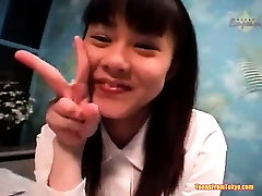 Asian schoolgirl fucking