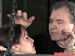 Bound hairy and hot sub dominated with the whipp