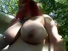 My Affair on BBW-CDATE.COM - Busty male female sex movie masturbating outside