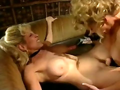 Randi Storm Fucked by Johnni sleeping mom busty with a Strap On Dildo