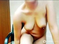 boobs Vivianna -indian srving food 1
