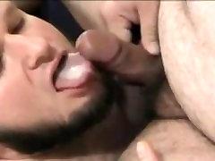indian skin lesbians Bear Swallow Cum