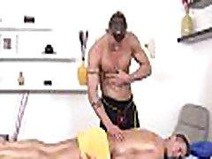 Pleasurable oral-job with sexy gay couple