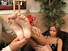 Nice foot sucking-fucking