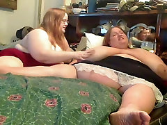 Horny Big Fat sister and broher sex Lesbians playing with each other-P1
