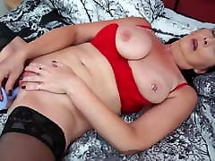 Naughty British mom Katie Leigh wants your cock