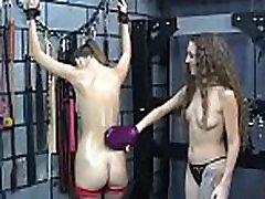 Mature loves femdom fist tube thraldom scenes to stimulate her vagina