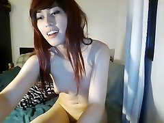 Asian Ladyboy wanks