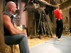 Cowboy wrestling
