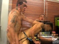 Teacher Collin Tempted! - Collin Stone And Robbie Anthony - TeachTwinks