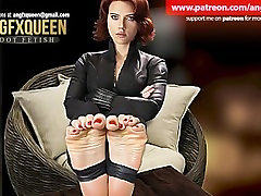 Black Widow feet wrinkled soles ANGFXQUEEN