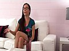 Moist daf sex first home inocent girl enjoys unfathomable banging at the young homemade teens casting