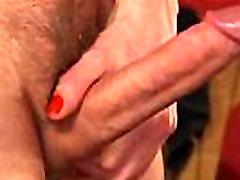 Tranny anal fucks huge dick guy