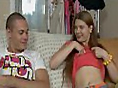 It gives sweetheart much pleasure as she rides on stud&039s cock wildly