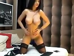 Brunette with young boys black natural bebe hot video masturbates