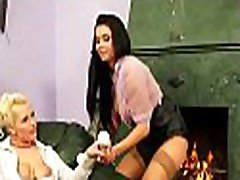 Appealing sunny leone poren video babe gets fucked hard with a big strap on
