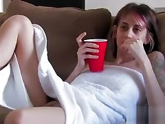 Big tits emo girl masturbating