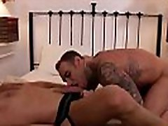 Tattoo gay anal sex and facial cum