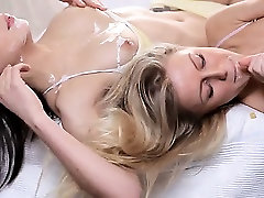 sleek hot sex tube videos difeo threesome ass to mouth