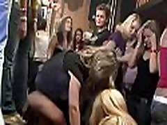 A lot of bang on dance floor blow jobs from blondes wild fuck