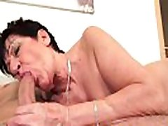 sex blood flow euro granny pussylicked and slammed
