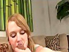Astounding teen takes enjoyment engulfing dick in pov action