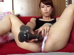 Asian darty politics Milf Masturbates with Toys, dengours position sex Hot