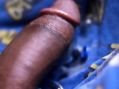 Black Twink With huge Cock CUMS ALL OVER HIMSELF.