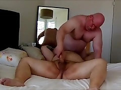 Muscle daddy powerful fuck
