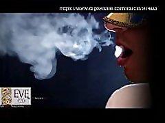 naamioitu tyttö tupakointi eeva 120s