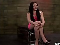 Fellow enslaves large breasted slut and shows her who&039s the boss