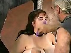 Young honey loves the coarse play on her dilettante pussy