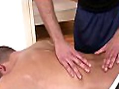 Steamy hot massage session for concupiscent dilever boy fuck in fellow