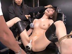Amazing Japanese whore in Crazy HD, BDSM JAV scene