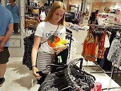 Candid voyeur skinny blonde teen in tight gray game of thrones 3d porn shopping