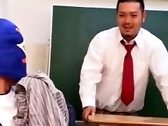 Japanese aaley adams School Cum