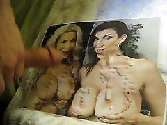 Cum on naughty young groping - Alyssa Lynn