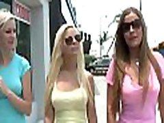 Three gals make a lesbian threesome that is fun to watch